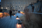 nighttime on the high line
