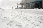 citi in the snow
