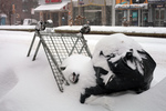 cleanup in aisle snow