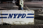 nypd barricaded