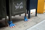 cozy street feet
